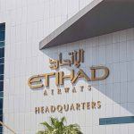 Etihad Airways Outdoor Signage