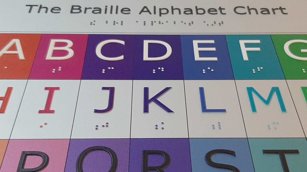 Braille and ADA signs